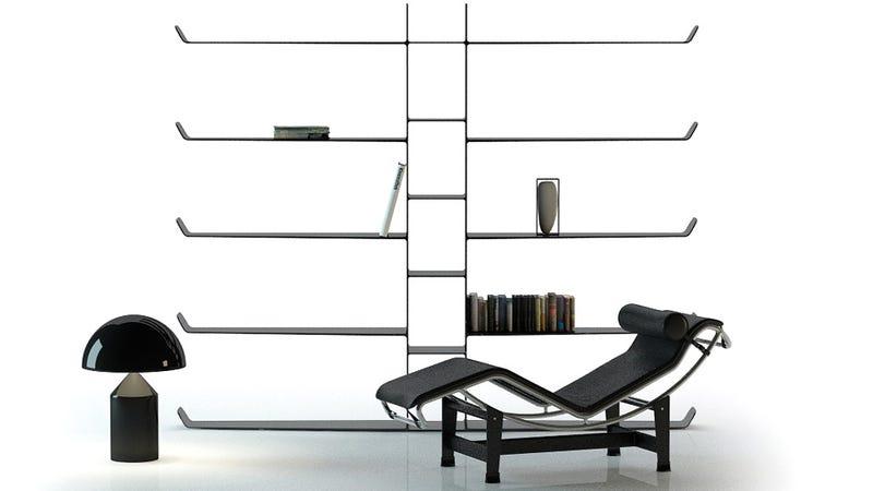 Carbon Fiber Bookshelves Are Novel Objects of Lust