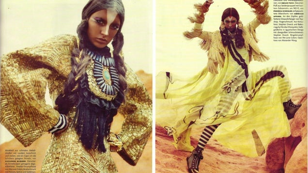 The Truth About Using a White Girl in the 'African Queen' Fashion Shoot