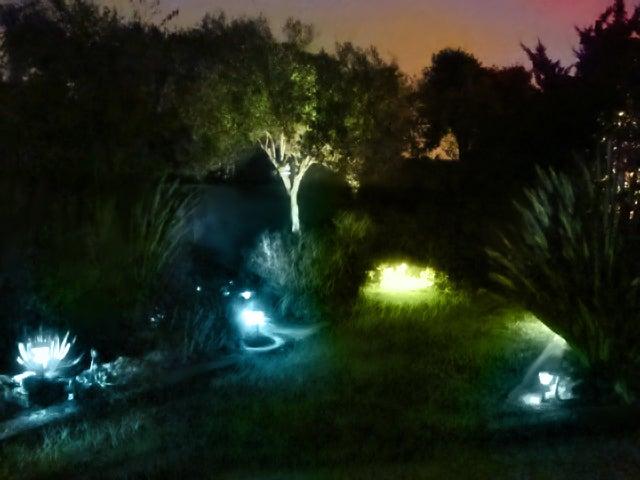 Lighting the Yard