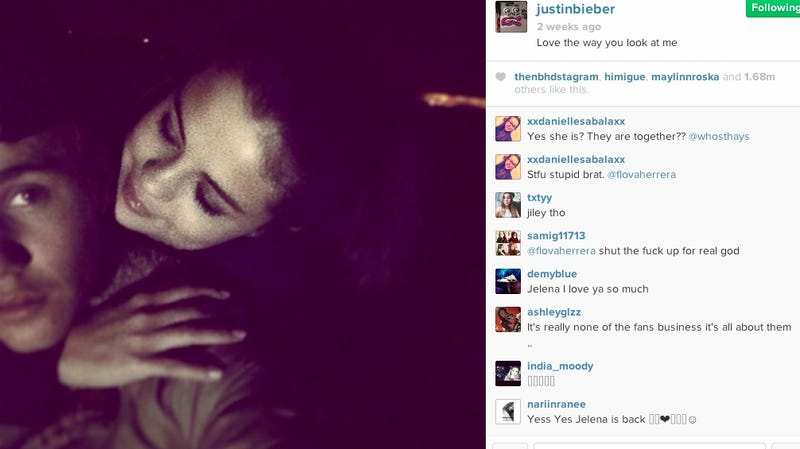 Alleged Texts Between Justin Bieber and Selena Gomez Are Terrible