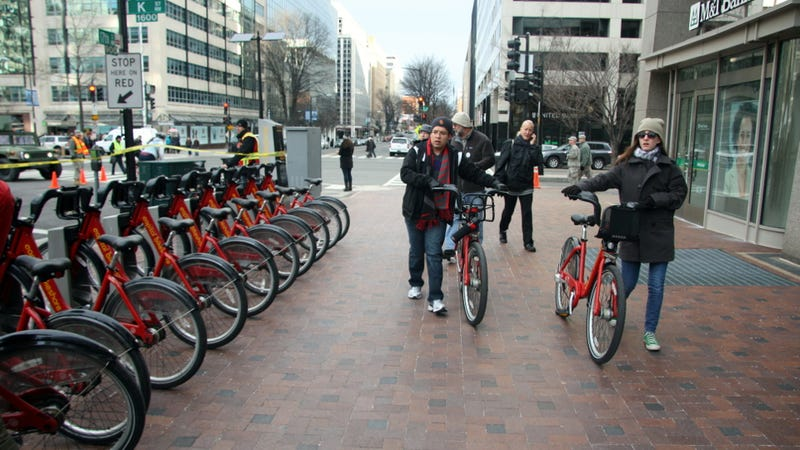 Riding A Bicycle To The Presidential Inauguration Wasn't A Great Idea