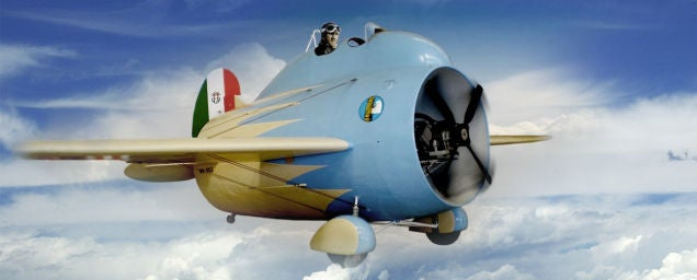 This strange barrel airplane is the ancestor of modern jet engines