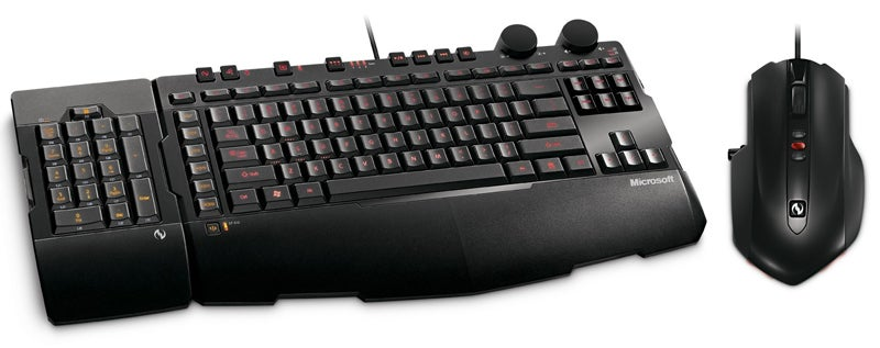 Gaming on the Death Star: Microsoft SideWinder X6 Keyboard With Switchable Keypad and X5 Mouse