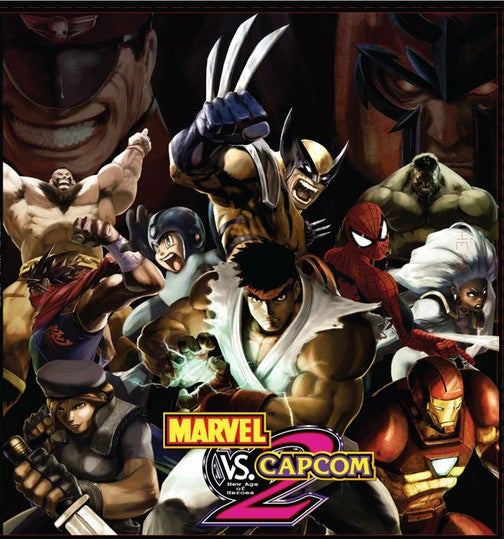Capcom Has Its Marvel VS Capcom 2 Mixtape Covered