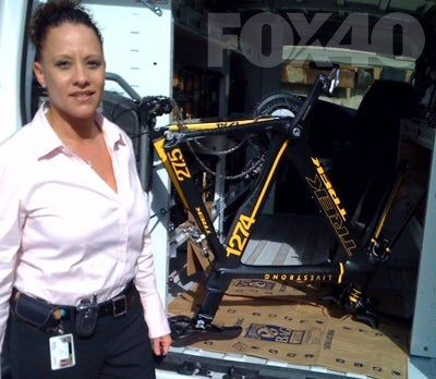 A Grateful Nation Weeps With Joy: Lance Armstrong's Bike Recovered Unharmed