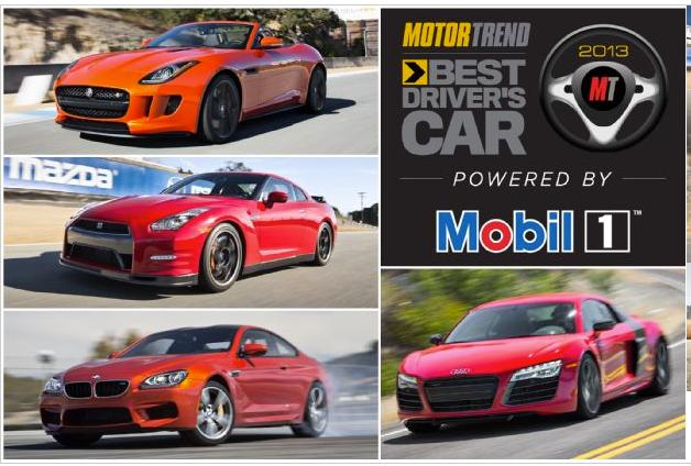 Motor Trend's 2013 Best Driver's Car