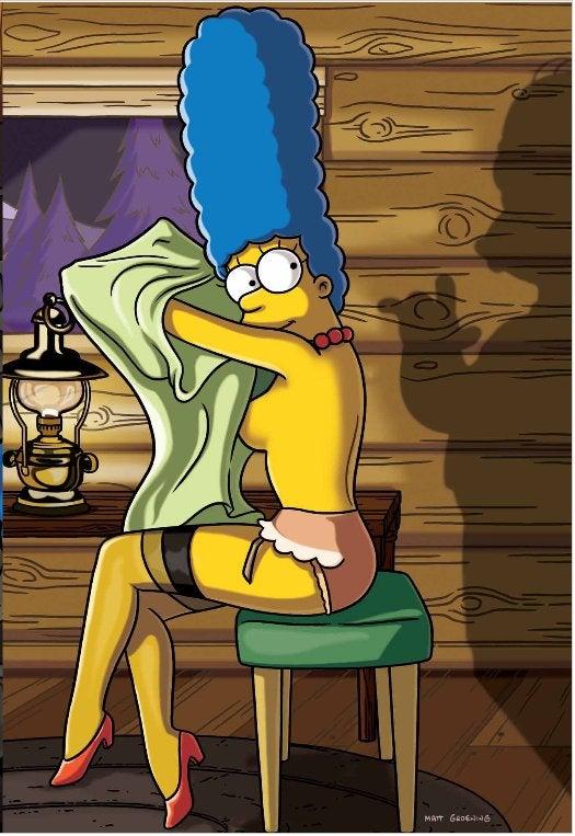 Marge Simpson's Playboy Spread: Creepily Fanboyish