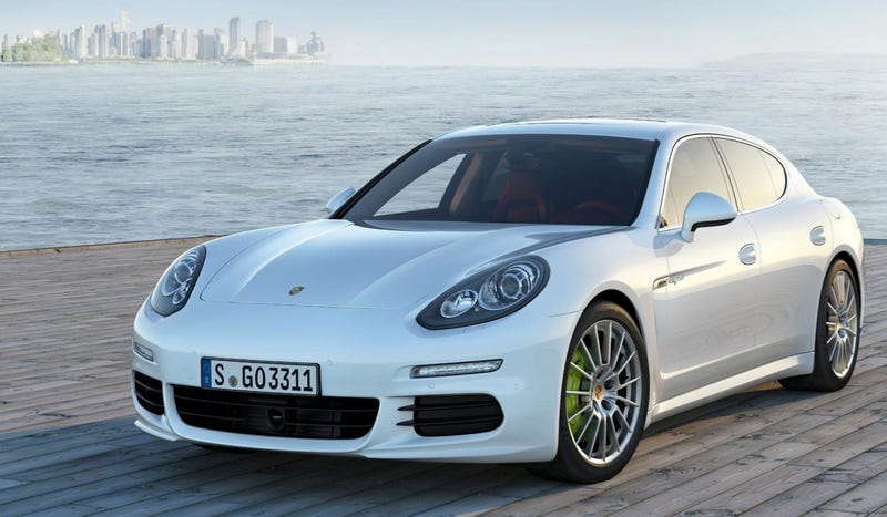The Plug-In Hybrid Porsche Panamera Is The Tesla Model S's First Real Competitor