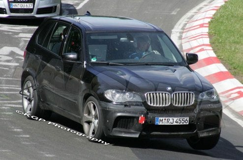2010 BMW X5 Shows Off Its New Nose