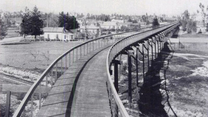 This 1897 bicycle highway was supposed to be the future of transit