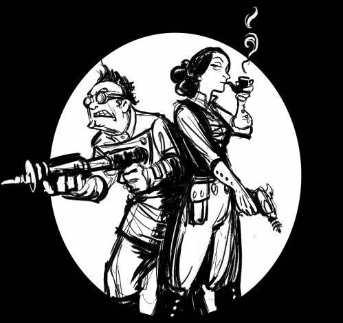 Babbage and Lovelace Fight Crime with the Power of Math