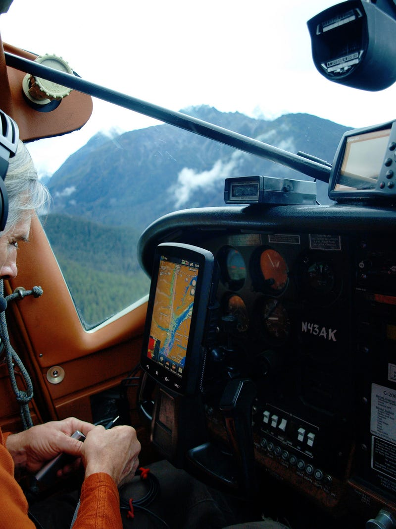 Flying Over Alaska's Glaciers With A Le Mans Racer At The Helm