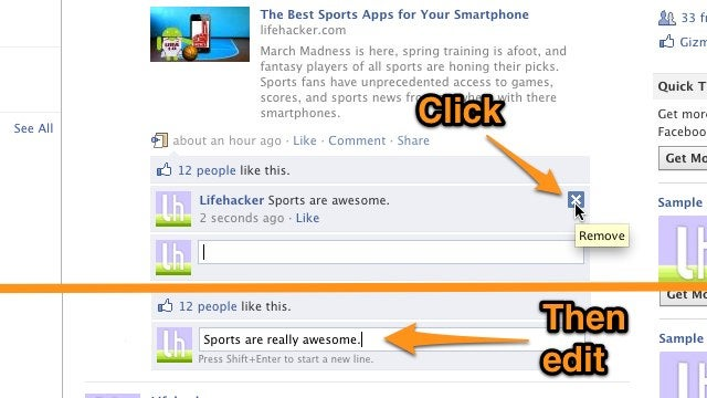 How to Edit Facebook Comments