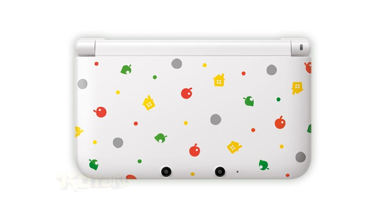 Japan Gets Custom Mario, Animal Crossing Handhelds, And They're Beautiful