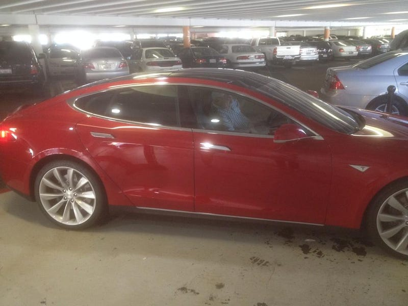 I test drove a Model S P85+ today and it was amazing.