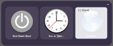 Schedule your power saving Quicksilver