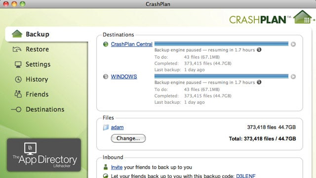 The Best Online Backup App for OS X