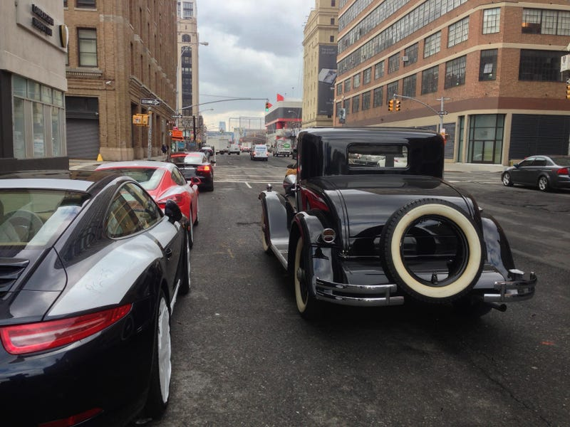 A 1929 Hupmobile Is Driving Around Manhattan