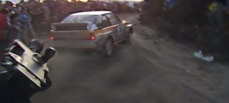Watch A Group B Audi Quattro Destroy A £30,000 Camera