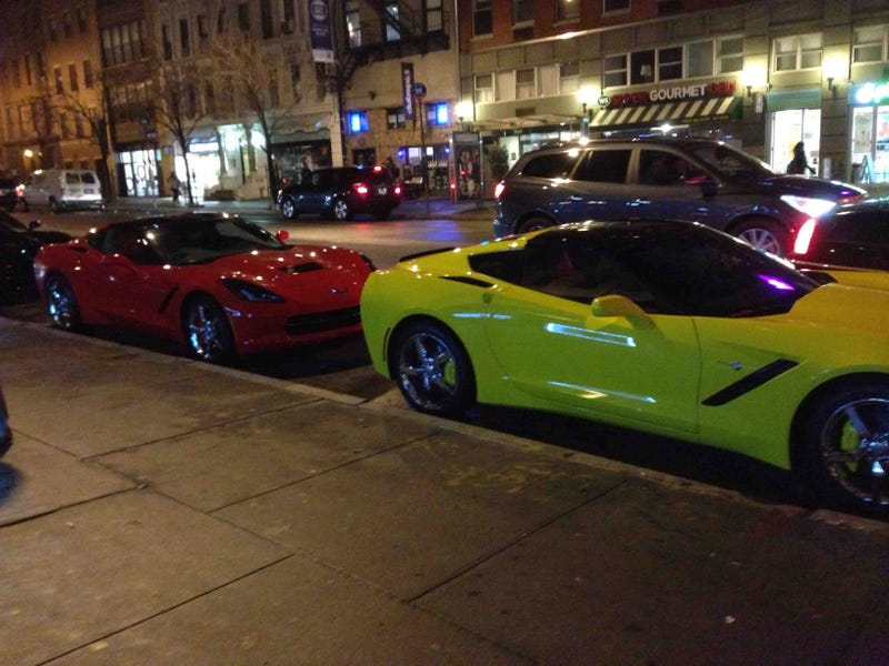 10 New C7s Spotted In NYC's Meatpacking District