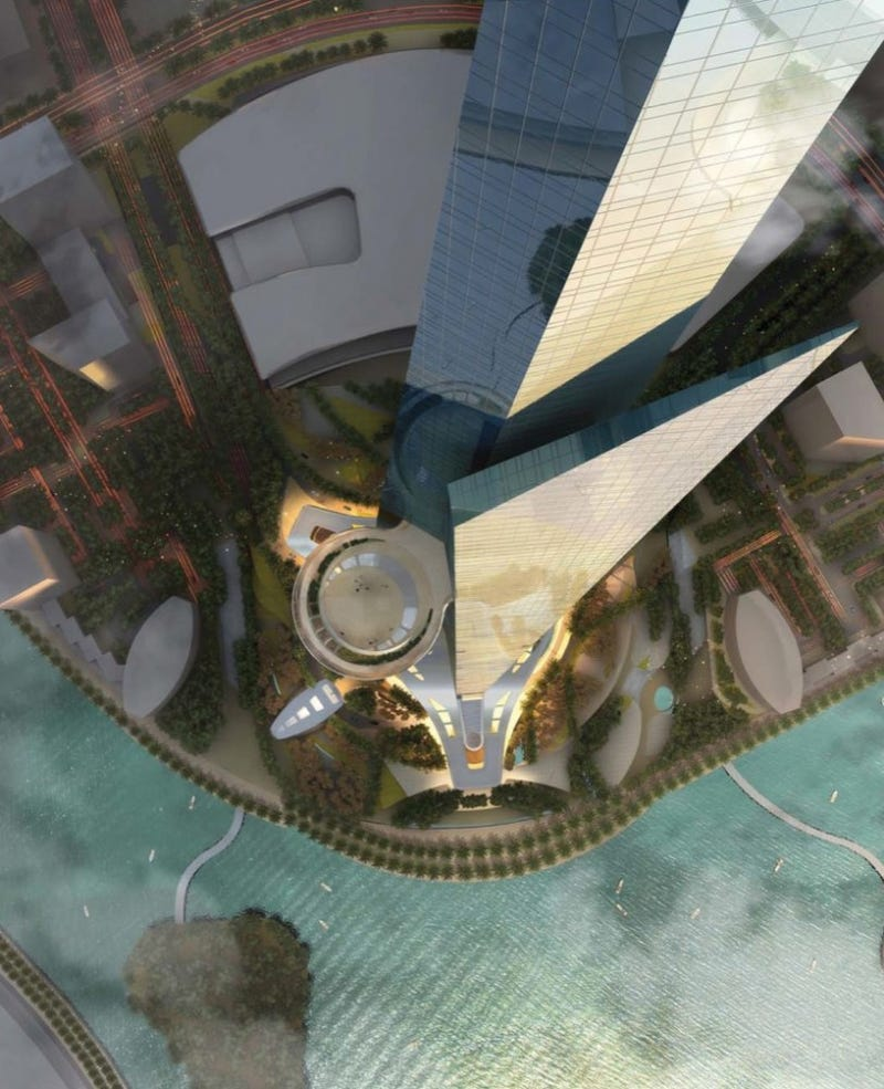 The New Images of the World's Newest Tallest Building Are Simply Insane