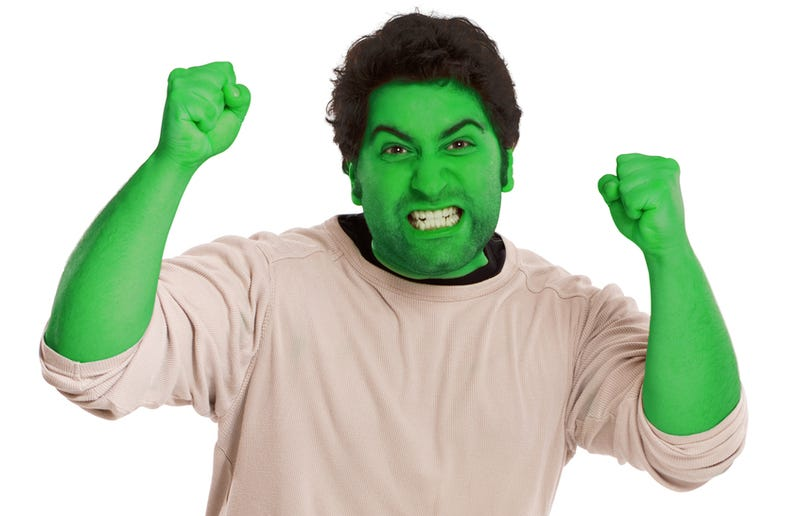 Man Angry After Hulk Makeup Refuses to Wash Off