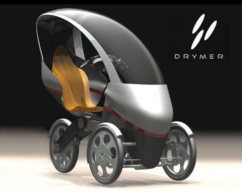 Drymer V0.5 Electric Bike May Make Your Face Melt