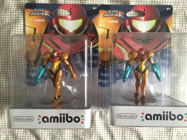 Defective Samus Amiibo? More Like Perfected Samus Amiibo