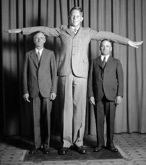 In search of the world's tallest human