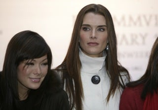Tabloid Reporters Check Brooke Shields' Mother Out Of Assisted Living Facility
