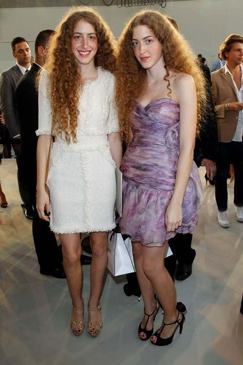 Chanel's Front Row: Celebrity Glamour Inundation