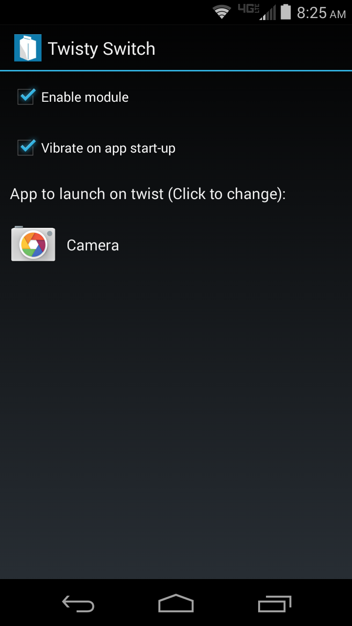 Launch Google's Camera (or Any Other App) With Your Moto X's Twist Gesture