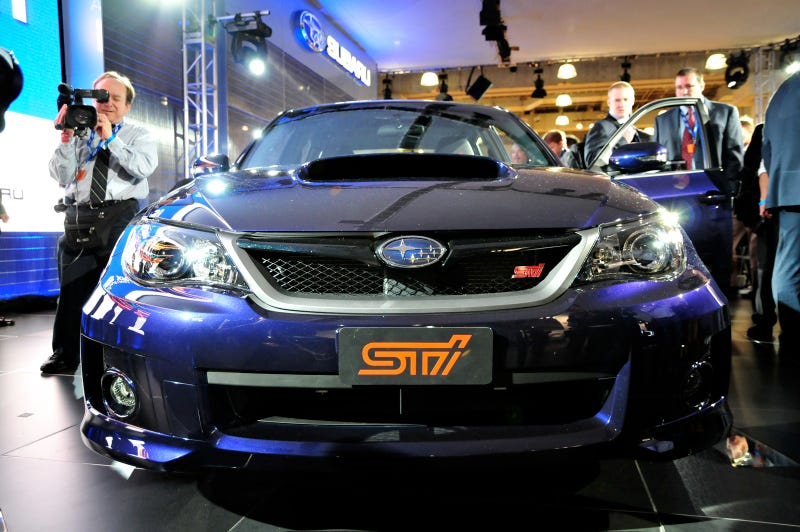 2011 Subaru WRX STI: Four Doors Of Homologated Fury