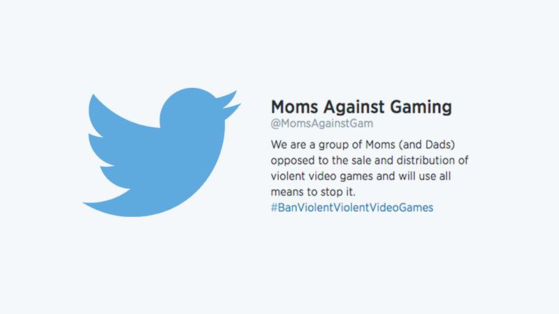 'Moms Against Gaming' Is My New Favorite Twitter Account