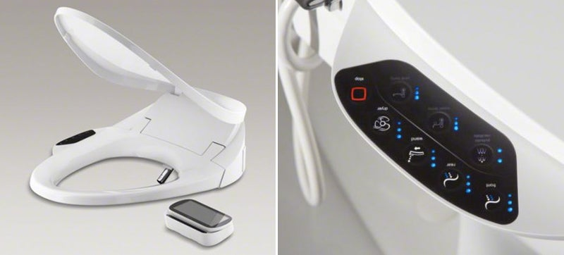 A Replacement Seat That Easily Turns a Toilet Into a Bidet