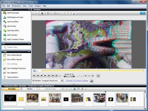 Roxio Creator 2011 Lets You Convert 2D Home Movies and Family Photos To 3D