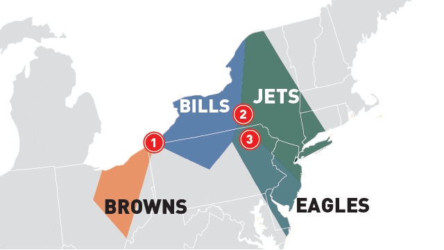 Which NFL TV Markets Got Stuck With The Worst Games This Season?