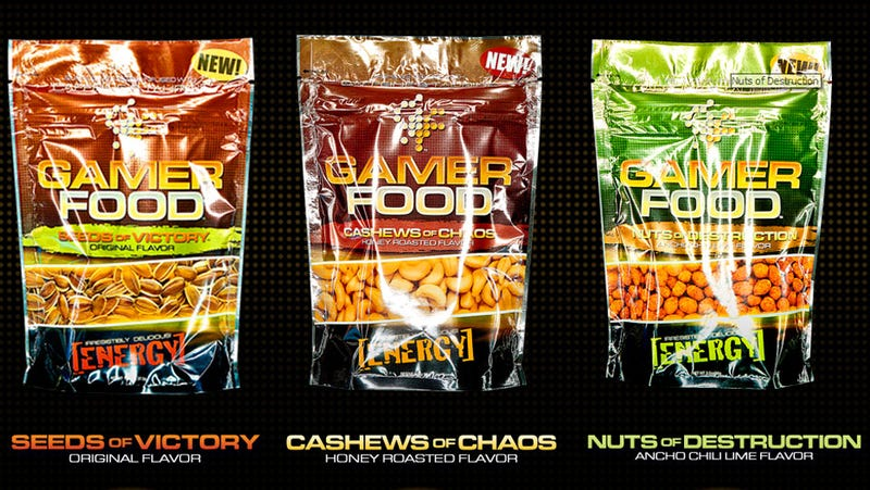 Stuff Your Gamer Mouth With the Nuts of Destruction