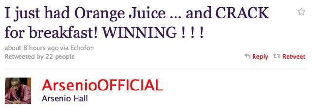 """""""Winning"""" Is Officially Happening"""