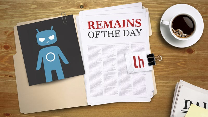 Remains of the Day: CyanogenMod Forced out of Domain, Moves to .Org in the Meantime