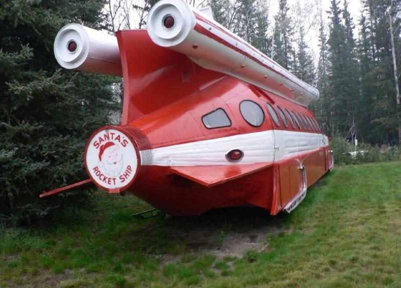 A Brief History of Santa's Rocket Ship