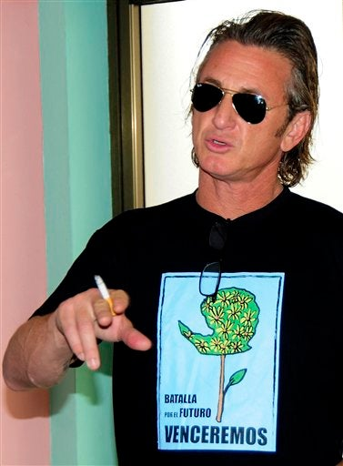 Sean Penn's A Diplomat; The Gosselin/Suleman Show Is A Go