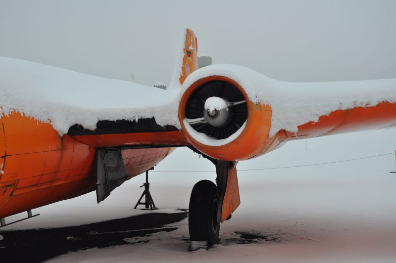 Berlin's eerie Cold War aircraft cemetery