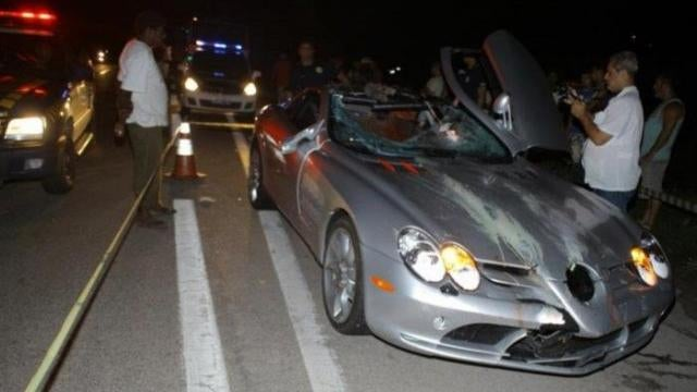 Billionaire Heir Accidentally Kills Cyclist With $450,000 Mercedes