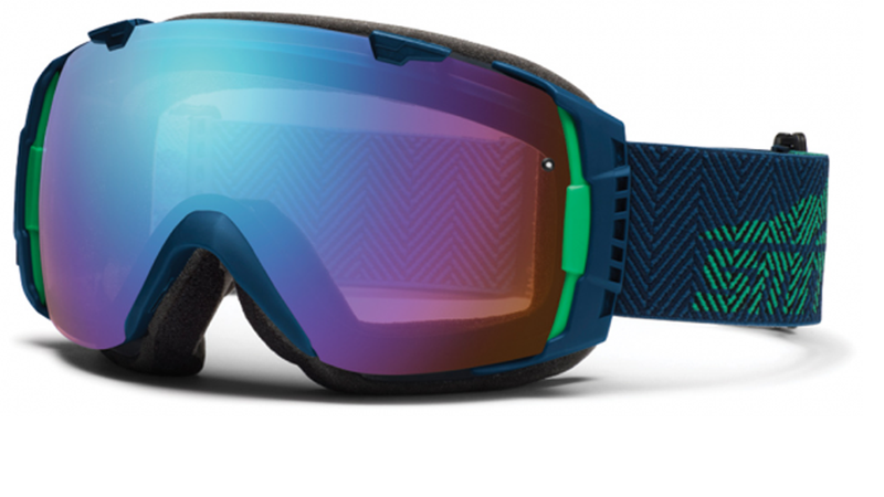 Powder Is No Match for Smith's Peeper-Protecting Snowboard Goggles