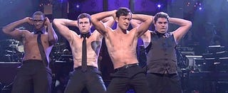 Joseph Gordon-Levitt Loses His Shirt in a Magic Mike Monologue
