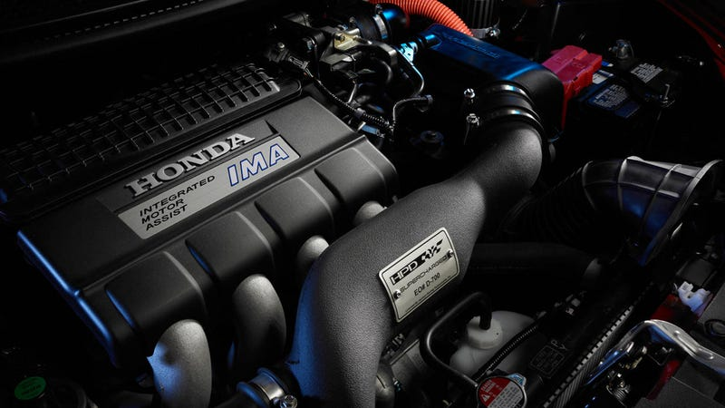 There's a factory blower for the Honda CR-Z. It fixes nothing.