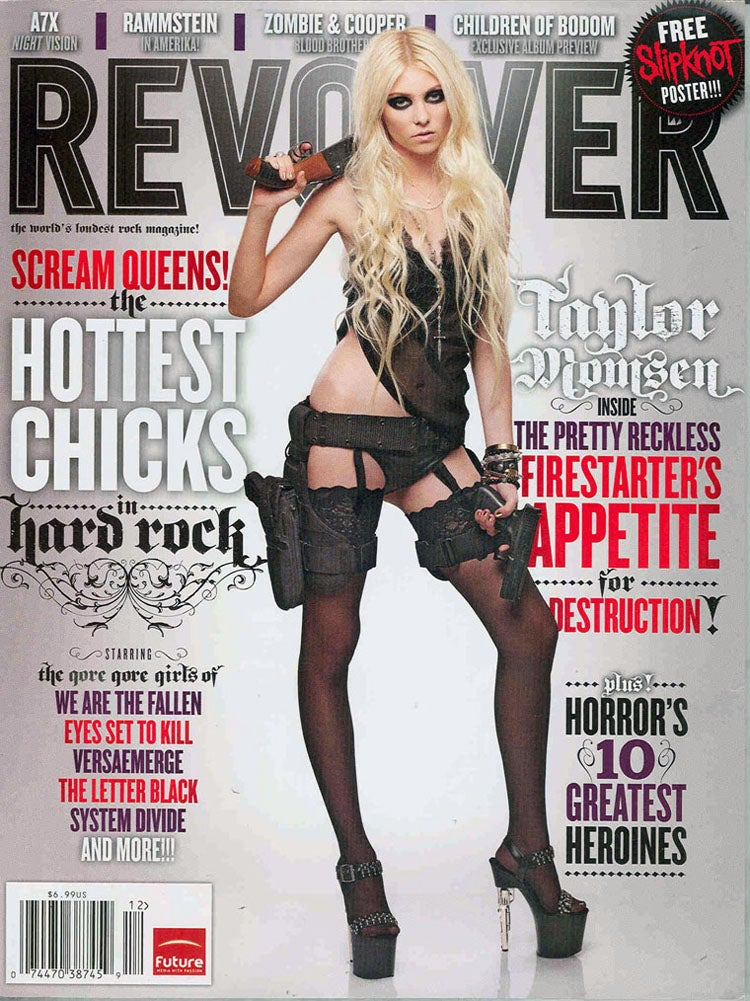 Taylor Momsen Is Armed and Dangerous