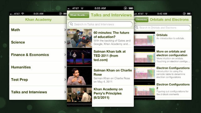 Khan Academy Comes to iPhone with Over 3,500 Educational Videos