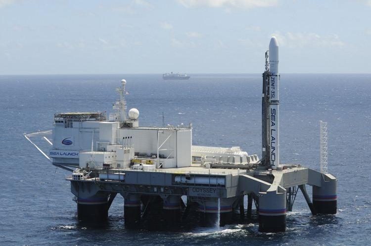 This Mobile Maritime Launch Pad Puts Satellites in Orbit for Less
